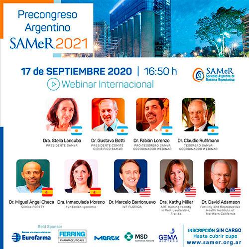 Precongreso SAMeR 2021