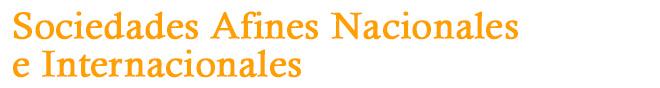 Sociedades afines nacionales e internacionales
